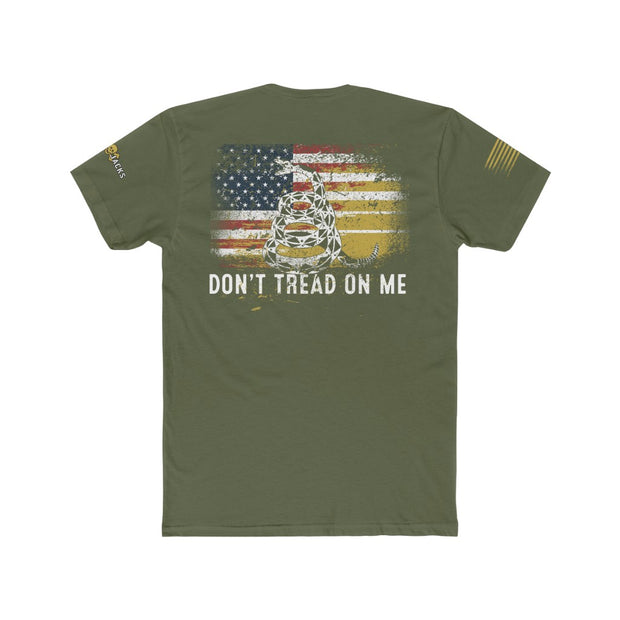 Men's T-Shirt - Don't Tread On Me Flag