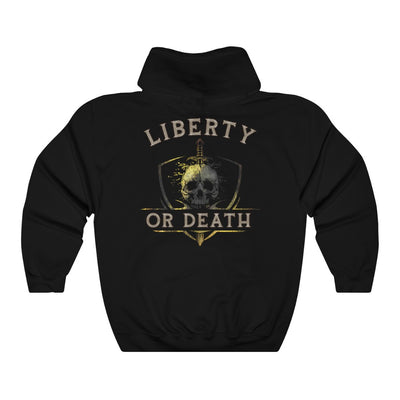 Women's Hooded Sweatshirt - Liberty Or Death