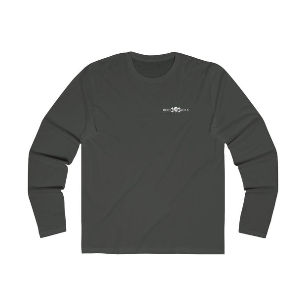 Men's Long Sleeve Crew Tee - Don't Tread On Me