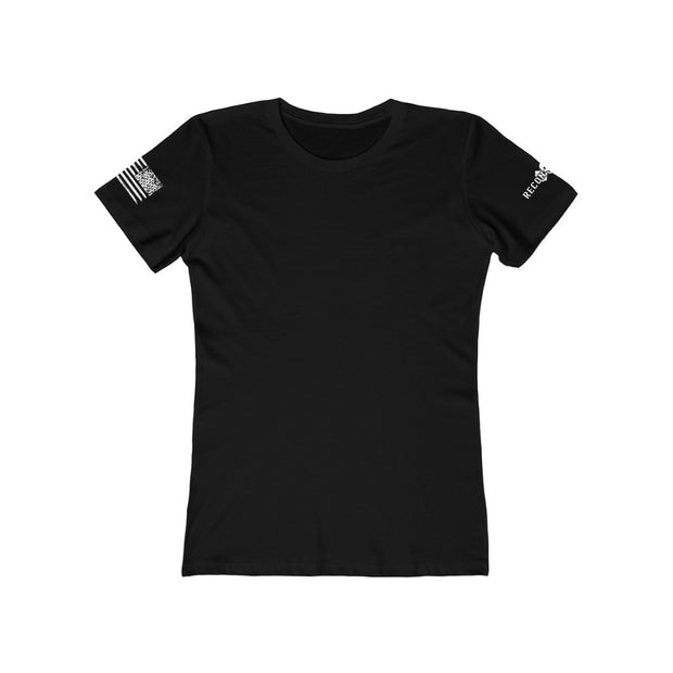Women's Feminine Cut Tee - Betsy Ross & The Spartan