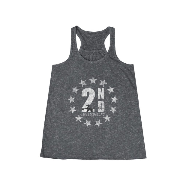 Women's Flowy Racerback Tank - Pro 2nd Amendment
