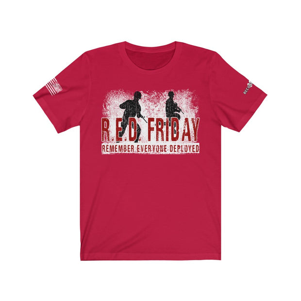 Men's & Women's T-Shirt - Remember Everyone Deployed - R.E.D. Friday