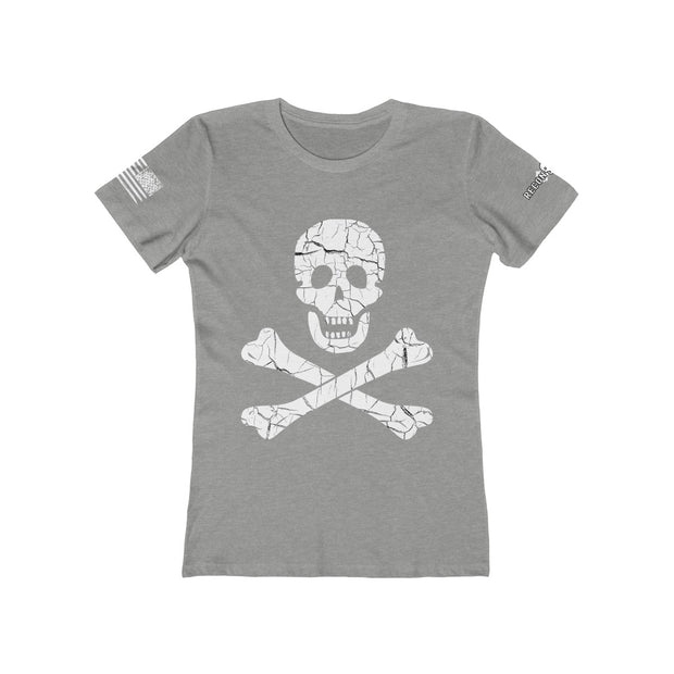 Women's Boyfriend Tee - The Jolly Roger