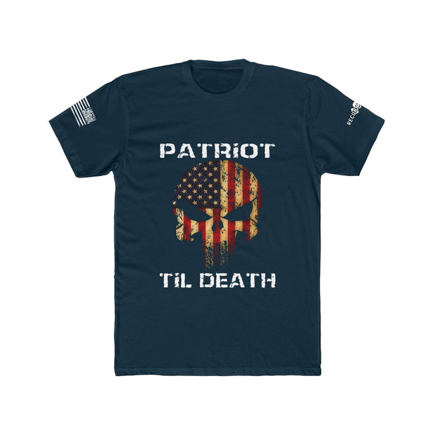 Men's T-shirt - Patriot Til Death - Design on Front