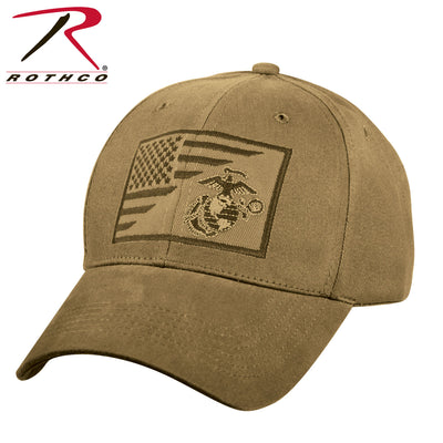 Rothco USMC Eagle, Globe and Anchor / US Flag Low Pro Cap