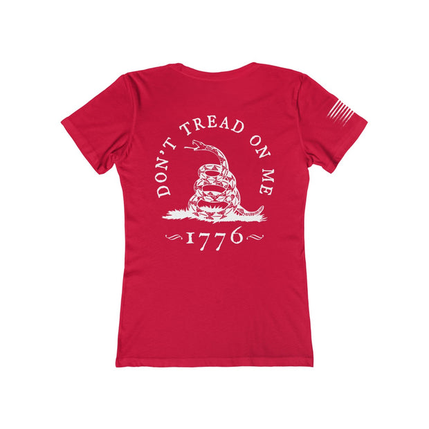 Women's Boyfriend Tee - Don't Tread On Me