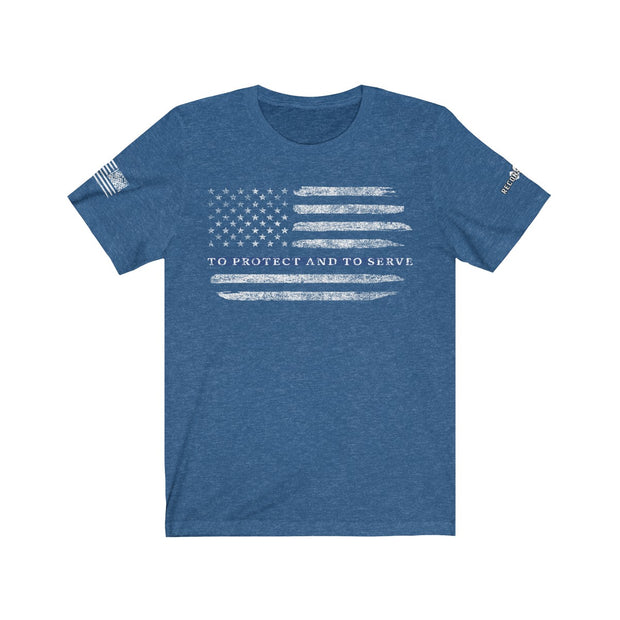 Men's & Women's T-Shirt - To Protect And To Serve
