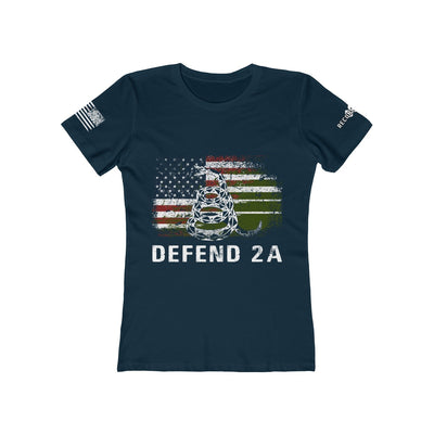 Women's Boyfriend Tee - Defend 2A