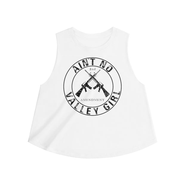 Women's Crop top - Ain't No Valley Girl