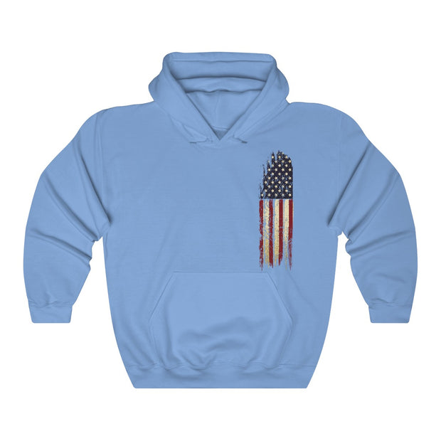 Women's Hoodie - Old Glory (Left Chest)