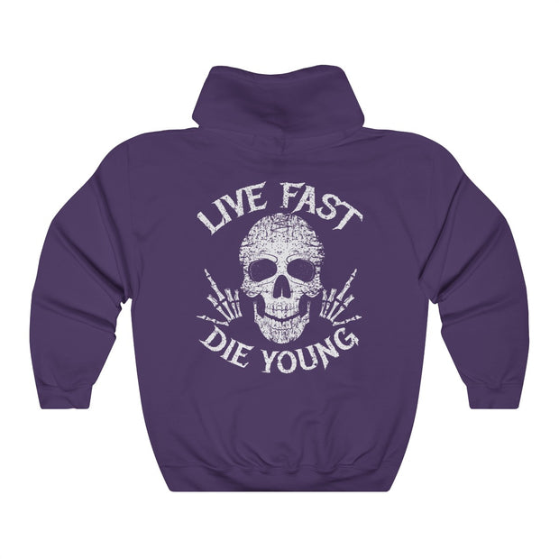 Women's Hoodie - Live Fast Die Young
