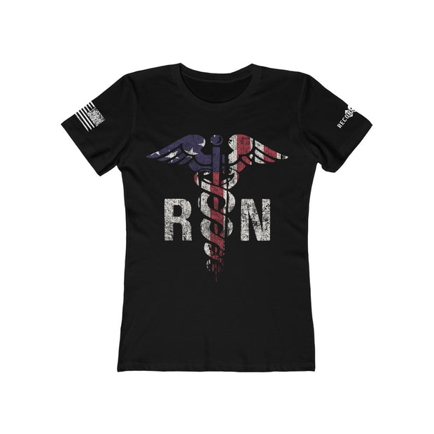 Women's Feminine Cut Tee - Nurse Patriot