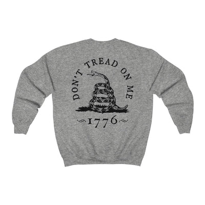 Men's Crewneck Sweatshirt - Don't Tread On Me