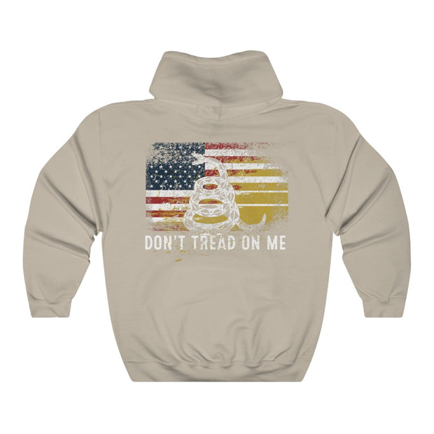 Women's Hoodie - Don't Tread On Me Flag