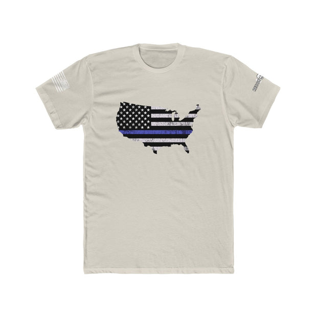 Men's T-Shirt - Thin Blue Line USA