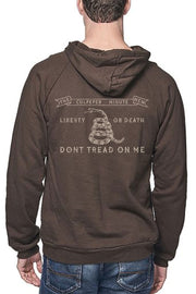 UNISEX ORGANIC COTTON PULLOVER HOODIE - CULPEPER MINUTEMEN FLAG (MADE IN THE USA)