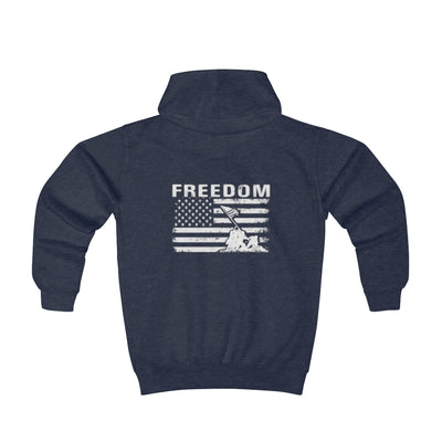 Youth Hoodie - Freedom Flag