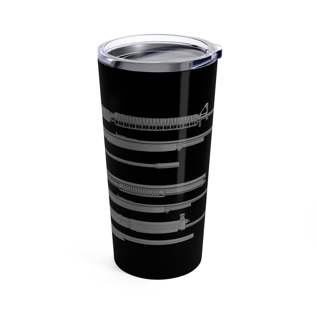 Rifle Flag - Tumbler