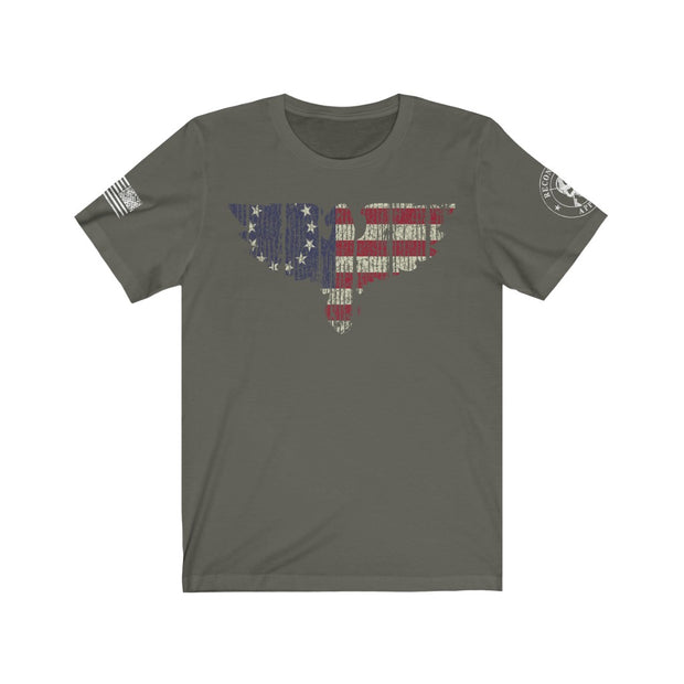 Men's T-Shirt - Betsy Ross Eagle