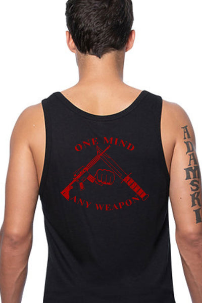 Men's Tank Top - One Mind Any Weapon (Made In The USA)