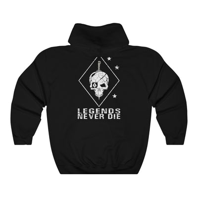 Men's & Women's Hooded Sweatshirt - Legends Never Die