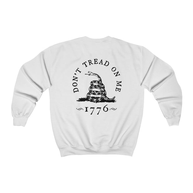 Women's Crewneck Sweatshirt - Don't Tread On Me
