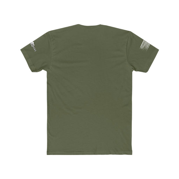 Men's T-Shirt - Remember Everyone Deployed - Camo Flag