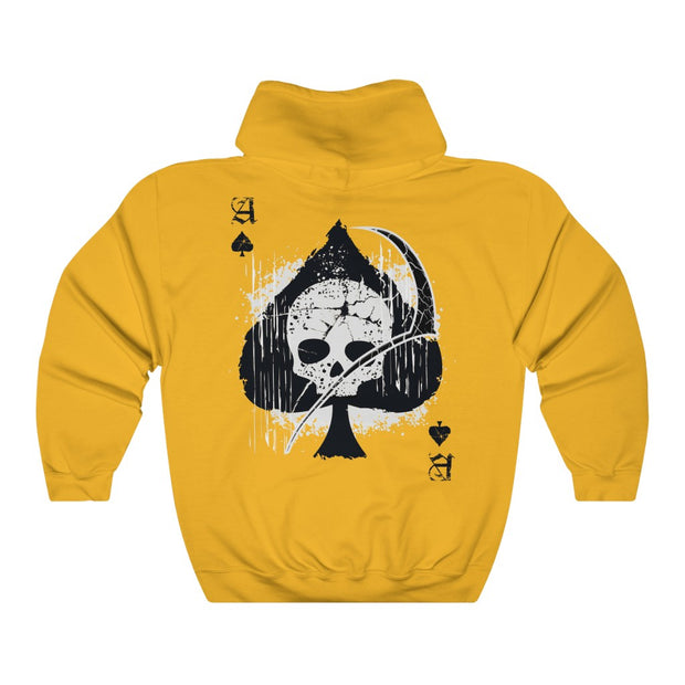 Men's Hoodie - Ace of Spades Death Card