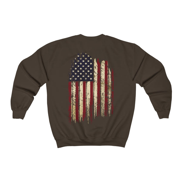 Men's Crewneck Sweatshirt - Old Glory