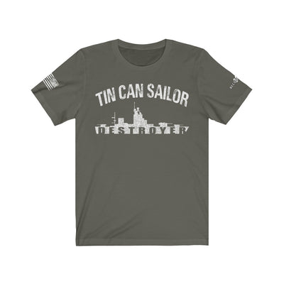 Men's T-Shirt - Tin Can Sailor