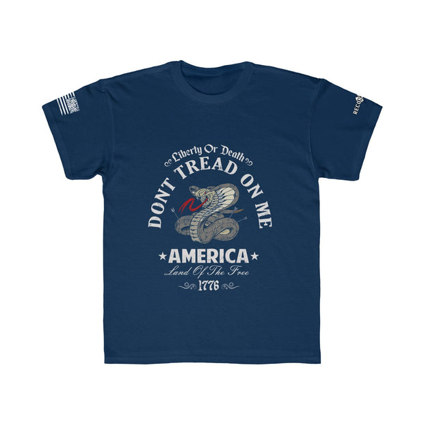 Youth T-Shirt - Don;t Tread On Me Liberty or Death