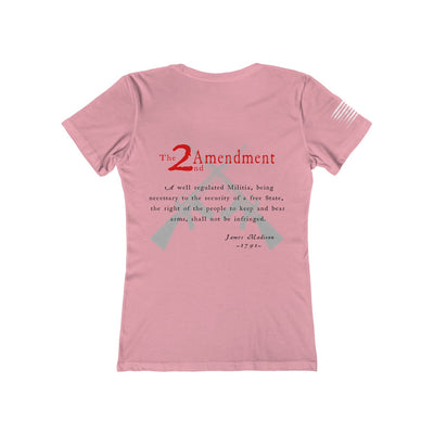 Women's Boyfriend Tee - 2nd Amendment -v2