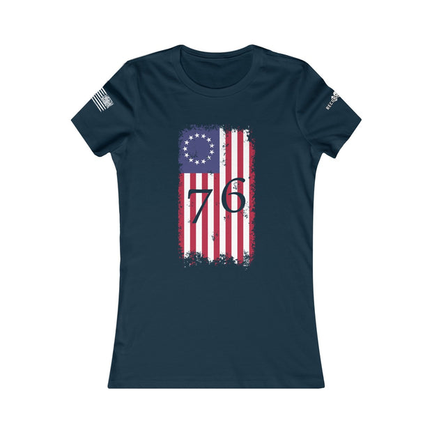 Women's Favorite Tee - Betsy Ross 76 Flag