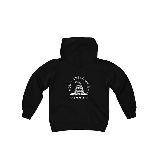 Youth Pullover Hoodie - Don't Tread On Me