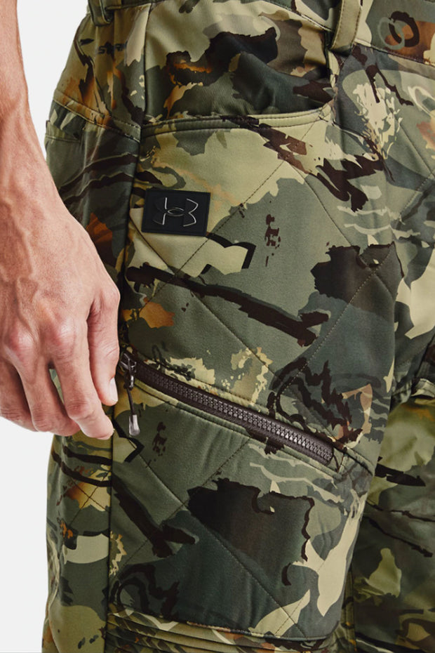 Men's UA Brow Tine Pants (Forest Camo) - Under Armour