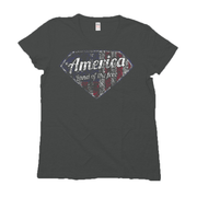 Women's T-Shirt - America Land Of The Free (Made In The USA)