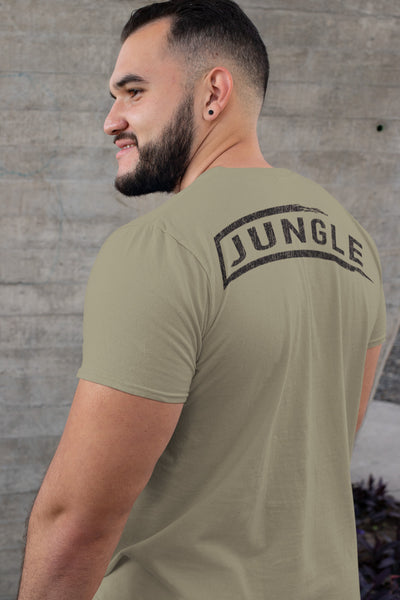 Men's T-Shirt - JUNGLE (Made In USA) Military Green