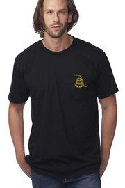 Men's Pocket T-Shirt - Just The Snake (Made In The USA)