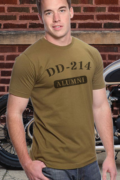 Men's T-Shirt DD 214  (Made In The USA)