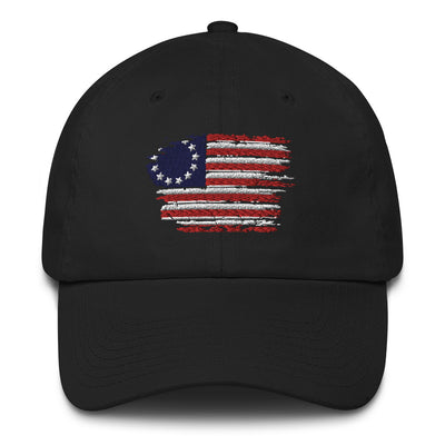 The Betsy Ross Flag Cotton Cap