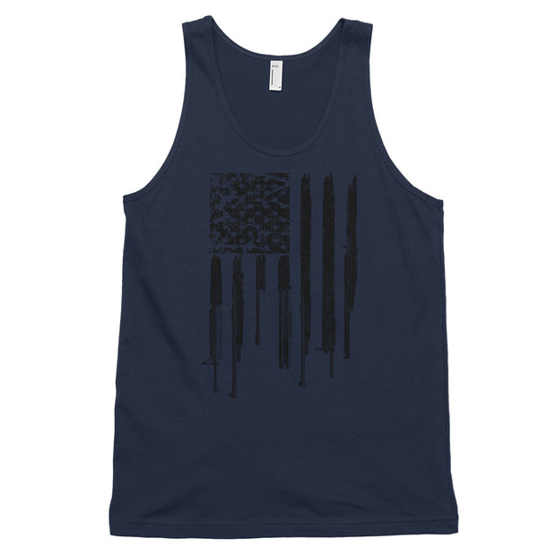 Men's Tank Top - Rifle Flag