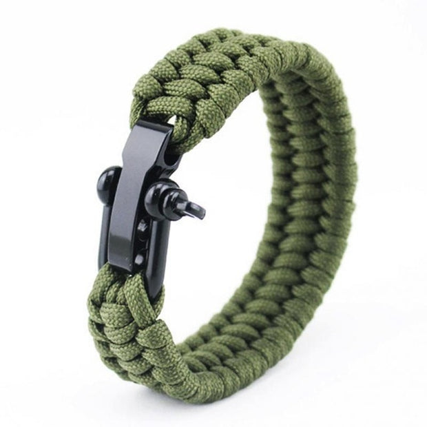 Retro Military Color Paracord Bracelet