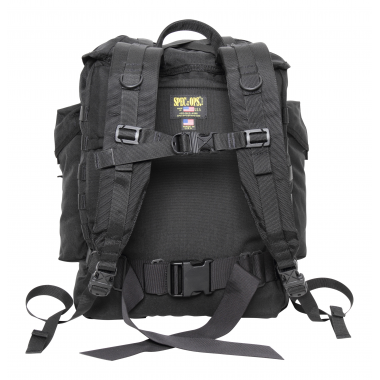 Recon Ruck Ultra Backpack - Black (Made in the U.S.A.) By SPEC OPS