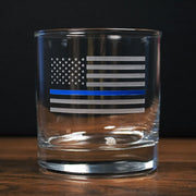 Thin Blue Line Glasses