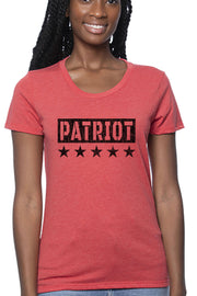Women's Organic RPET Blend Tee - PATRIOT (Made in the USA)