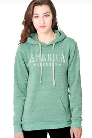 The AMERICA FREEDOM Hoodie - (Made in the USA)