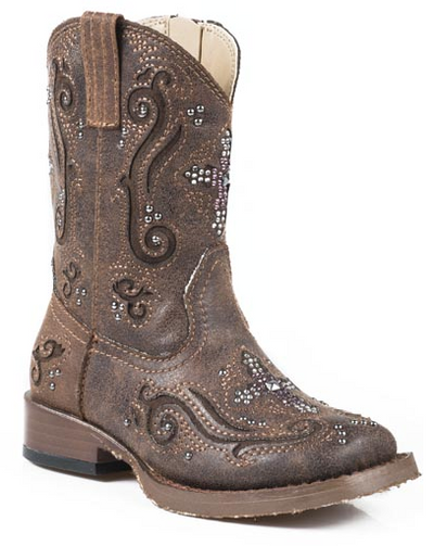 "Roper Toddler's ""Faith"" Western Boot"