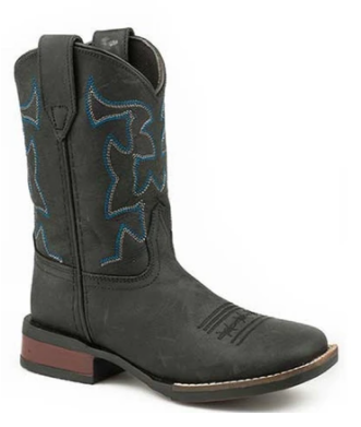 Roper Kid's Cowhide Leather Western Boot