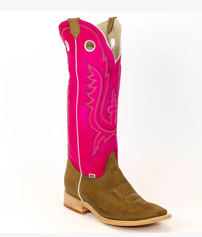 "Rockin Leather Men's ""Pink Buckaroo"" Western Boot Out of stock"