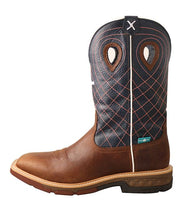 "Men's 12"" alloy toe western work boot with cellstretch"